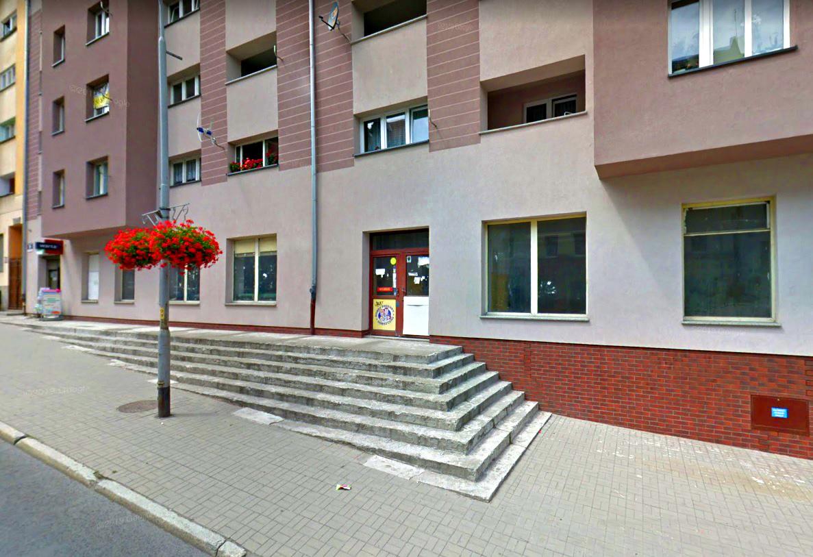 Nowa siedziba Filii nr 1 na Nowym Mieście. Widok fasady.